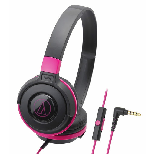 Tai nghe Audio-technica ATH-S100iSBPK (Hồng)-1