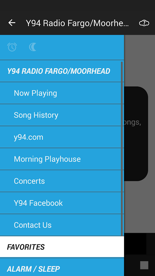Y94 Radio Fargo/Moorhead- screenshot