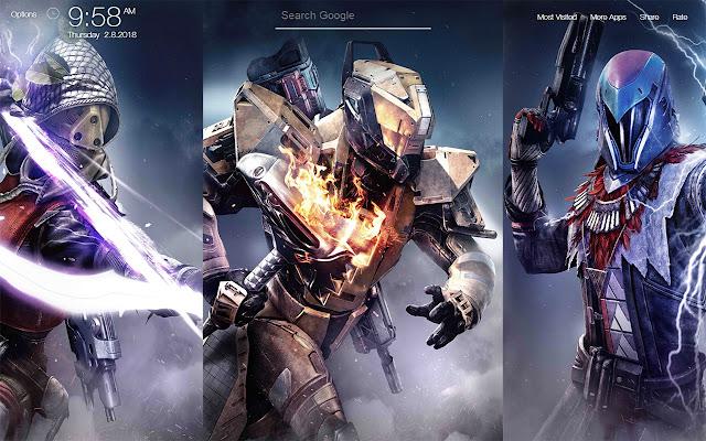 Destiny 2 FullHD New Tab Wallpapers