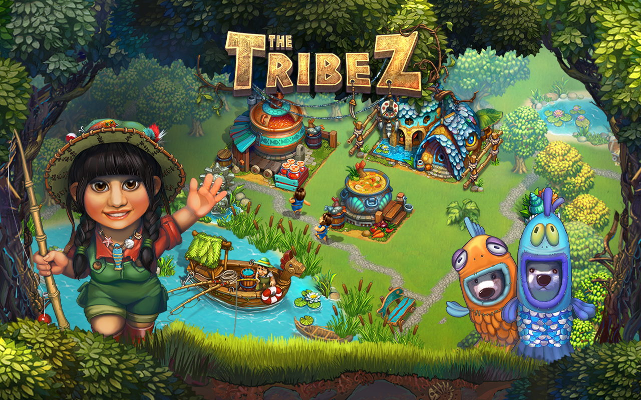 Screenshots of The Tribez: Build a Village for Android