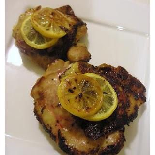 Lemon Chicken Thighs.