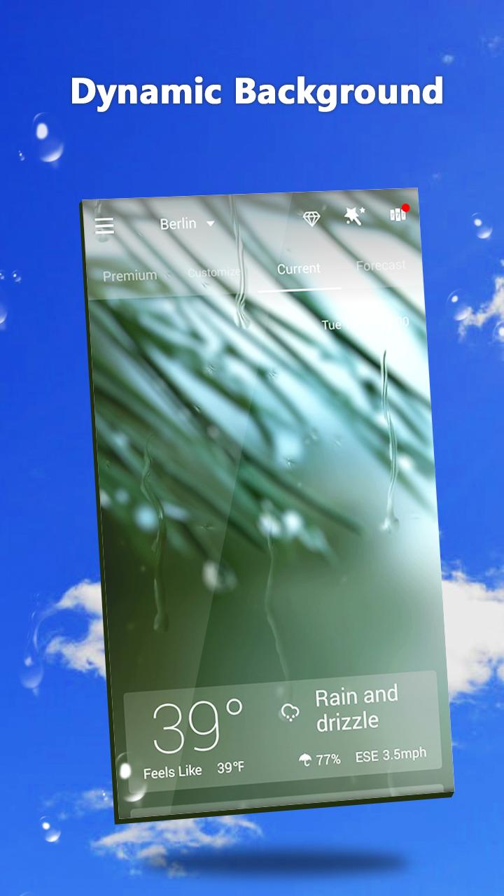 GO Weather - Widget, Theme, Wallpaper, Efficient Screenshot 5