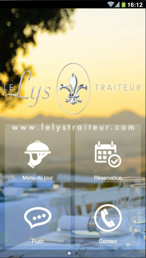 Le Lys Traiteur- screenshot