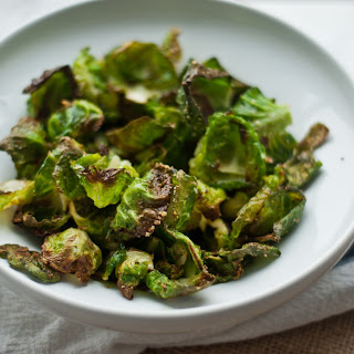 Roasted Brussels sprouts and chips, three ways..