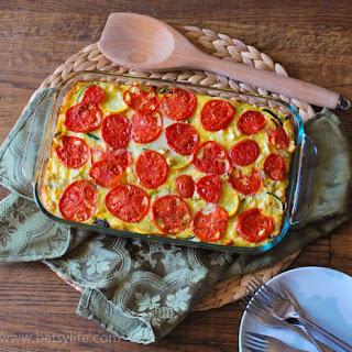 Vegetable and Quinoa Quiche
