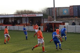 Photo: 16/01/10 v Irlam (North West Counties League Div 1) 1-0 contributed by Mike Latham