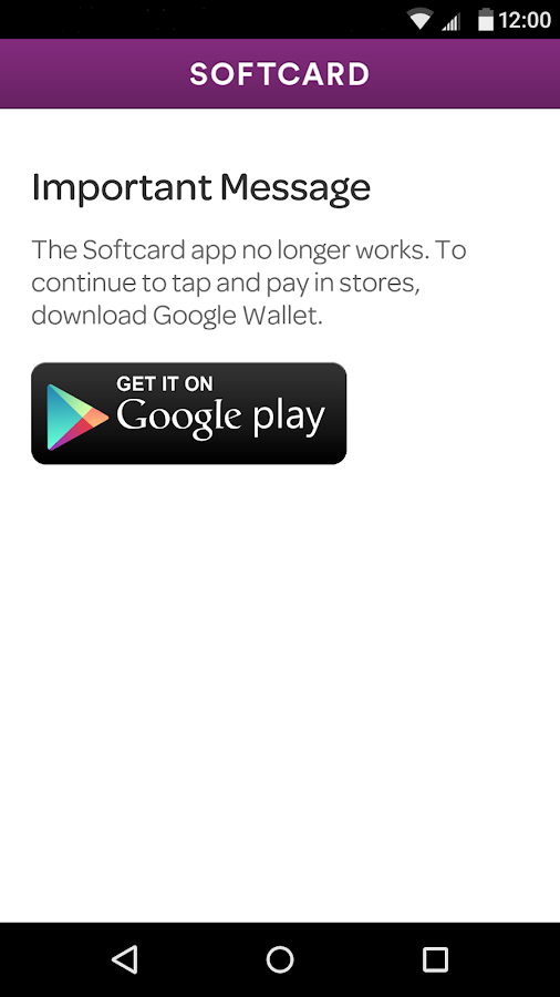 Softcard - screenshot