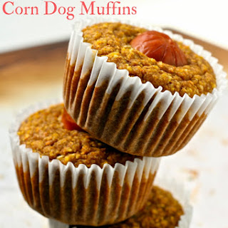 Vegan Corn Dog Muffins