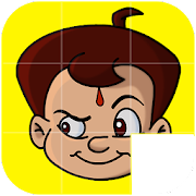 Sliding Puzzle With Bheem‏