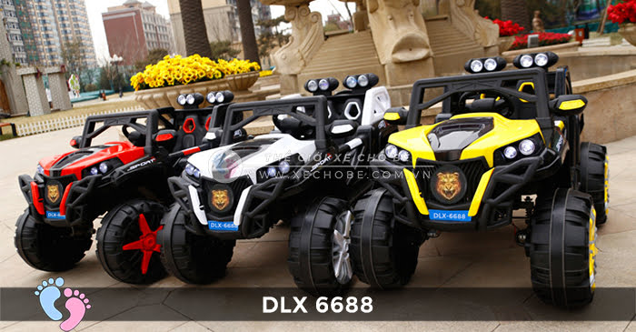 o to dien dia hinh 4 dong co DLX-6688 1
