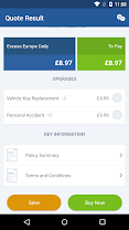 iCarhire - Car Hire Insurance app (apk) free download for Android/PC/Windows screenshot
