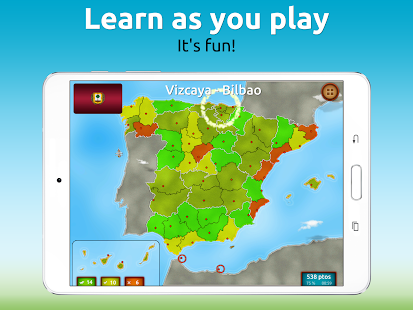 GeoExpert - Spain Geography- screenshot thumbnail