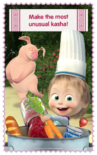 Masha and Bear: Cooking Dash Screenshot