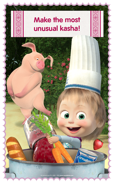 Masha and Bear: Cooking Dash screenshot 12