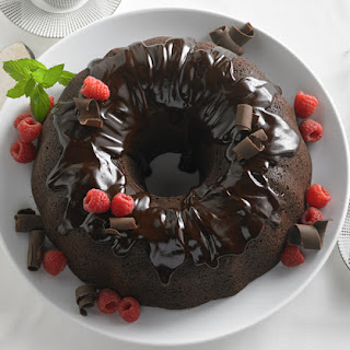 Double Chocolate Chip Bundt Cake.