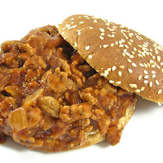 Skinny Barbecue Sloppy Joes