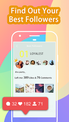 Ig Finder Instagram Followers Analyzer & Insights 1.2 screenshots 2