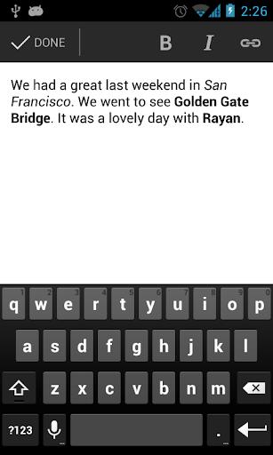 Blogger  screenshot 3