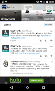 Portland Traffic from KGW.com screenshot 2