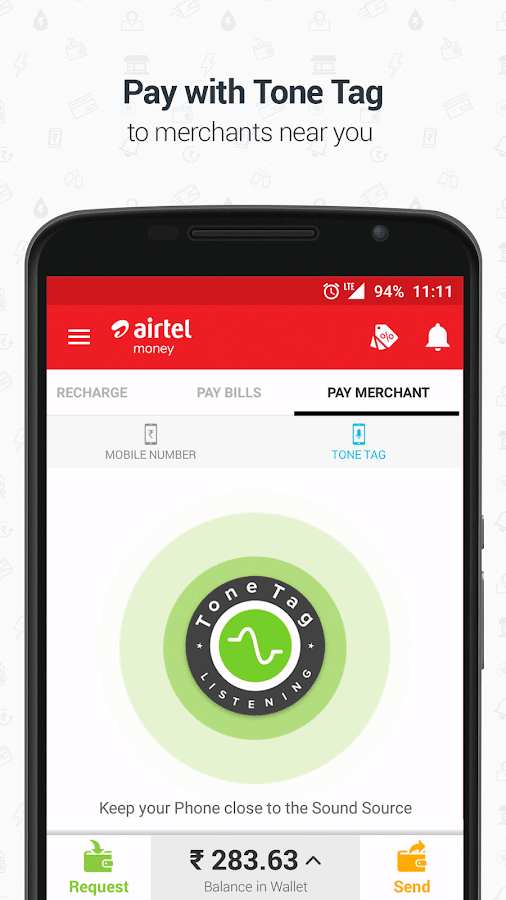 Airtel Money - Recharge & Pay- screenshot