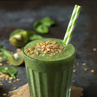 Spinach and Kiwi Smoothie.