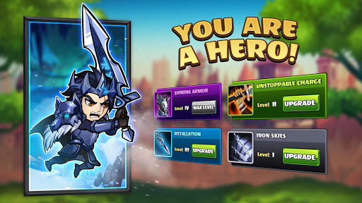 Mighty Party: Legends of Battle Heroes. apkpoly screenshots 1