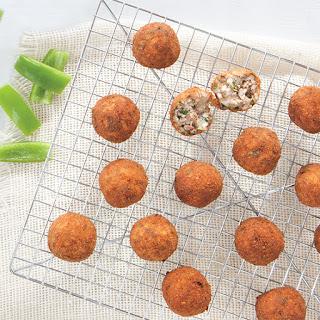 Fried Boudin Balls.