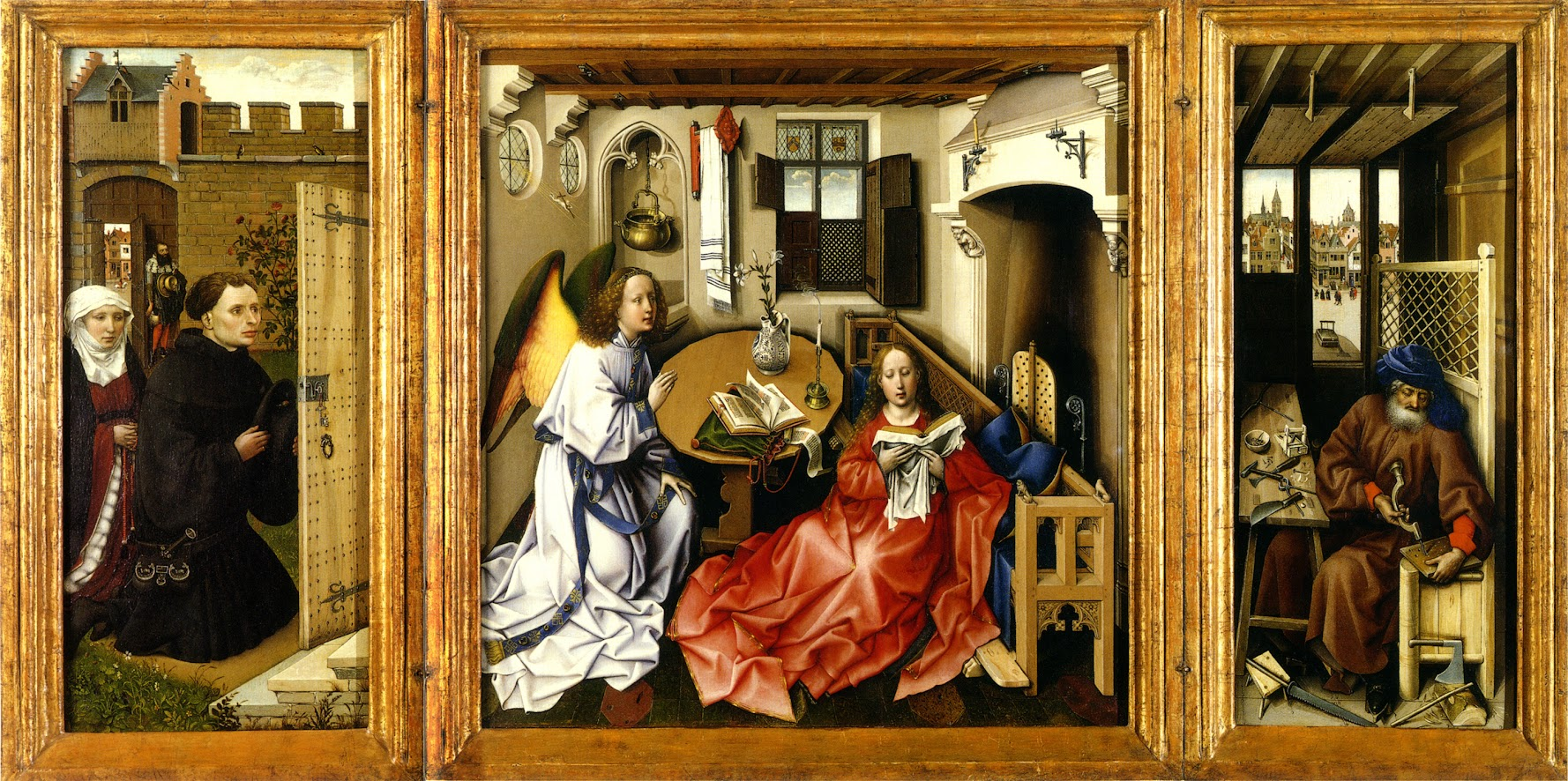 Article on the Merode Altarpiece