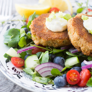 Salmon and Zucchini Burgers