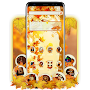 FREE autumn maple leaf tema APK icon