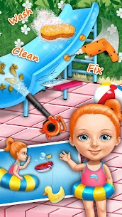 Sweet Baby Girl Cleanup 4 – House, Pool & Stable 4