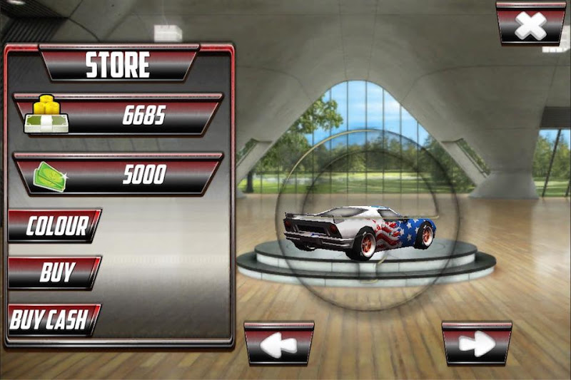 Скриншот Супер Дрэг-гонка 3D