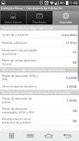 Screenshot of Calculadora de Jubilación
