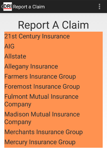 DRickard Insurance Agency- screenshot
