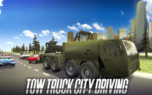 Tow Truck City Driving  screenshots 1