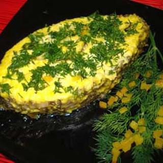 Baked Patagonian Toothfish Mimosa