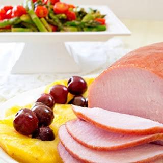 Slow Cooker Ham & Pineapple.