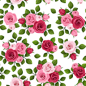 Rose Vintage Wallpaper