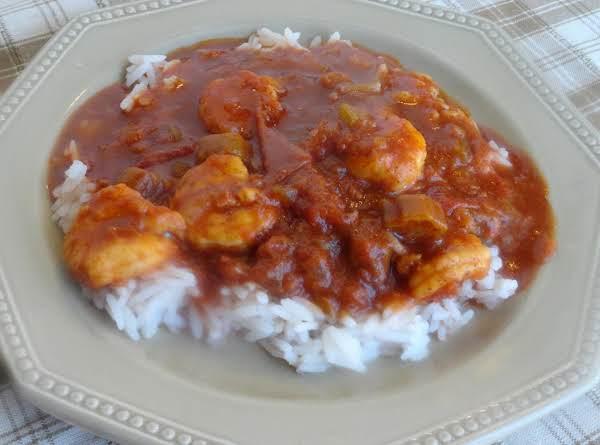 Mom's Shrimp Creole