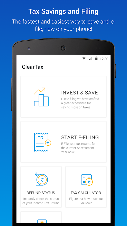 ClearTax- screenshot