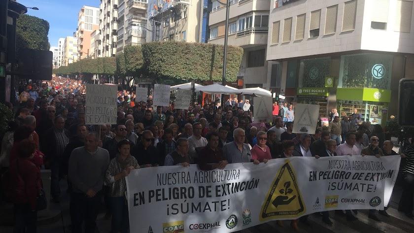 Manifestación en noviembre del año pasado.