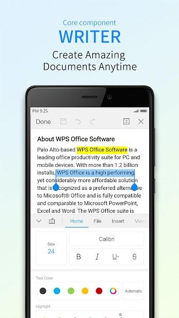 WPS Office (BETA) screenshot 1