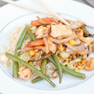 Chicken Veggie Stir Fry.
