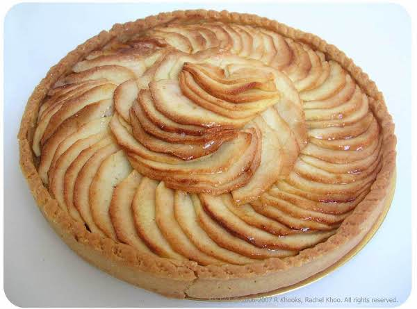 Tarte Aux Pommes - Moroccan Recipe