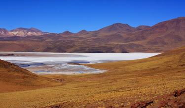 Photo: Crossing a ridge from one salt flat....