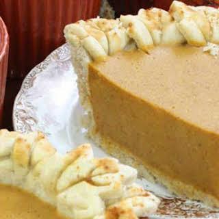 Vegan Pumpkin Pie Filling.