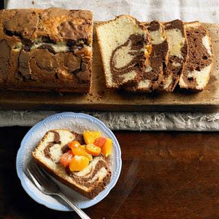 Milk Chocolate Marble Loaf Cake Recipe