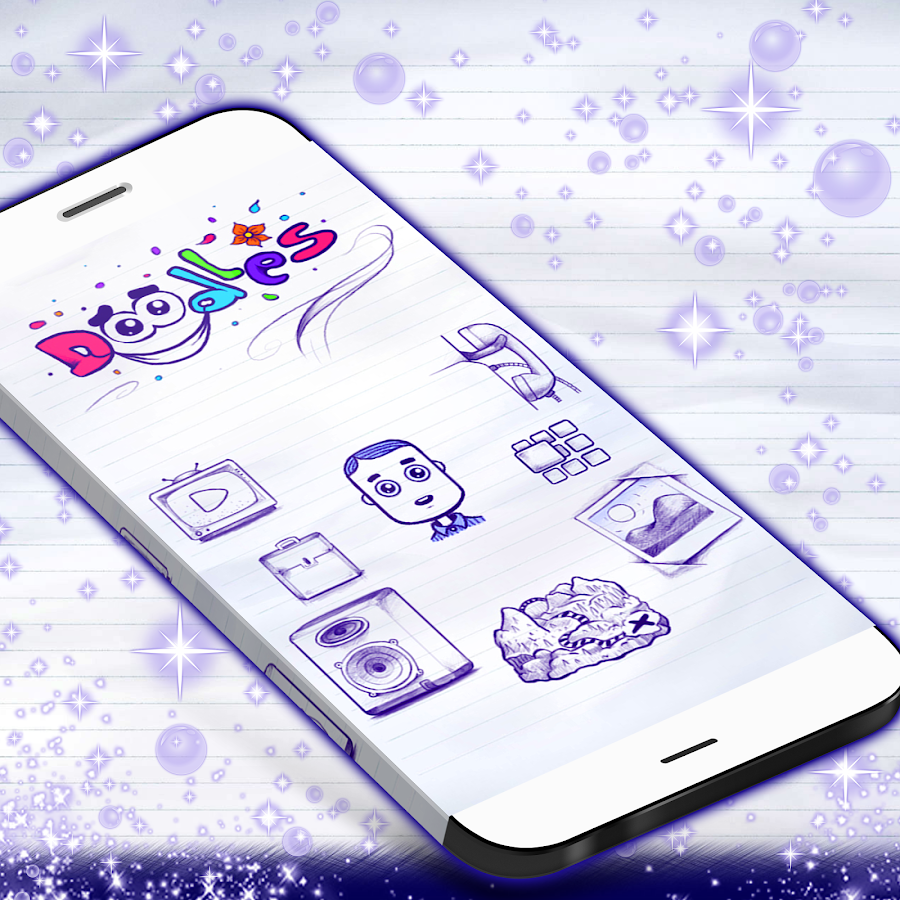 Doodles GO Launcher- screenshot