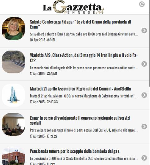 La Gazzetta Ennese- screenshot