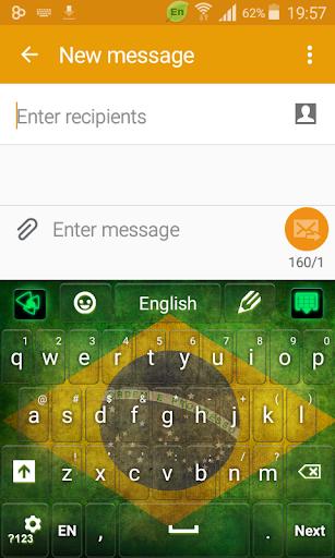 ブラジルのキーボード